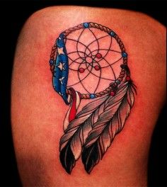 dream catcher tattoo on arm - Google Search