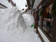 Lussari, snow 2009, Tarvisio