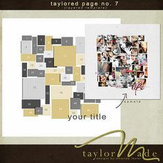 Taylored Pages No. 7