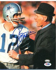 fd7c2dbebbe Roger Staubach Signed 8x10 Photo - PSA/DNA #SportsMemorabilia #DallasCowboys