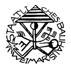 Attributed to Johannes Auerbach. First Bauhaus seal. The style and imagery of this seal- chosen in a student design competition- express the medieval and craft affinities of the early Bauhaus. Herbert Bayer, Walter Gropius, Bauhaus Art, One Logo, Chapter 16, Design Competitions, School Design, Art Forms, Typography