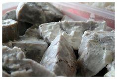 Faalifu Kalo (coconut creamed taro)