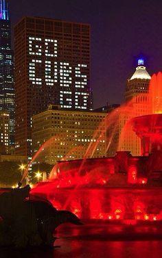 Go Cubs Go Chicago