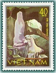 Geology, Postage Stamps, Vietnam, Nature, Pictures, Painting, Art, Caves, Stamps
