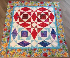 Just the right fabrics to create a heart using the traditional Storm at Sea setting. Kaffe Fassett fabrics Storm At Sea Quilt, Scrap Busters, Foundation Piecing, Strip Quilts, Acrylic Wool, Blue Fabric, Paper Piecing, Line Drawing, Thrifting