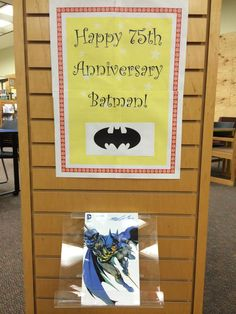 The Beaches Branch of the Jacksonville Public Library celebrates Batman's 75th anniversary.
