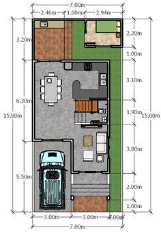 5 Marla House Plan 1200 Sq Ft 25x45 Feet