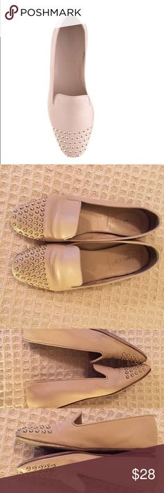 J. Crew Darby Cap Toe Studded Loafers Super cute J. Crew shoes! Some wear to them, all shown in photos, but lots of life left. Offers accepted! J. Crew Shoes Flats & Loafers