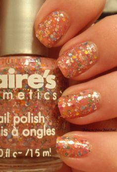 Claire's Candy Shop Glitter Nail Polish