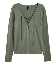 Ladies | Tops | Long Sleeve | H&M US