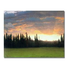 Albert Bierstadt 'California Sunset II' Art