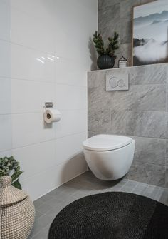 Interior by Jutta K.N: Suunnittelukohde - viimeistelty wc Sauna Shower, Interior And Exterior, Interior Design, Laundry In Bathroom, Bathroom Inspiration, Sweet Home, Houses, Goals, Interiors