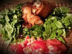 Grillade varma mackor med pico de gallo | Recept.nu
