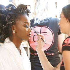 What a great shot by @selectstudios of @Missusa @realdeshaunab @missdcusa getting her #perfect face done by @blushtones for @theperfectface and #TPFCOSMETICS.com THE OFFICIAL COSMETICS SPONSOR FOR THE 2016 MISS USA PAGEANT. #missusa #missuniverse #missteenusa #pageant #pageantmakeup #beauty #glamour #missdcusa #makeup #makeupartist #leahlaviano #vamakeupartist #pageantmakeupartist