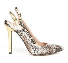 Come to Mama!!!  but I think I'd want the heel in another color and both heel bands in lizard.