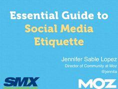 The Essential Guide to Social Media Etiquette #socialMedia #médiasSociaux