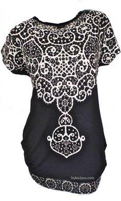 Fantazia Clothing Estella Top In Black At Styles2you.com