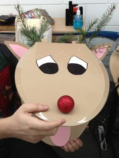 #11 - Rudolph the Red Nose Reindeer toilet seat wreath