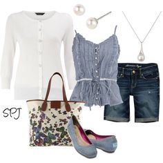 Julie, created by s-p-j on Polyvore