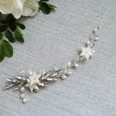 🌿Mia silver wedding hairpin  #veloefilo Hairpin, Wedding Hair Accessories, Wedding Hairstyles, Brooch, Silver, Jewelry, Jewlery, Jewerly, Brooches