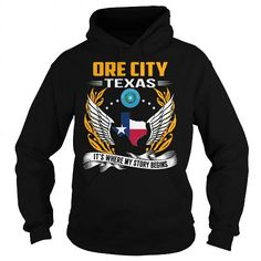 I Love Ore City, Texas - Its Where My Story Begins T shirts