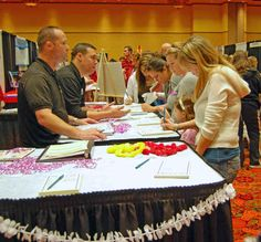 Wedding/bridal shows offer tons of free giveaways and access to vendors.