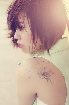 #dandelion #tattoo