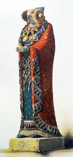 La Dama de Elche de pie (hipótesis)
