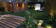 Garden Lighting: Make Your Garden Come To Life At Night http://www.gardendad.com/guides/garden-lighting/
