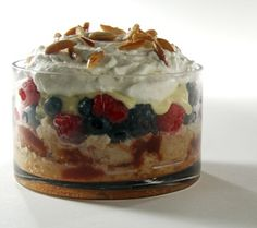 Tipsy Laird is the delicous Scottish trifle dessert that gets its name by the addition of the famous Scottish Drambuie Liqueur. Here's a great recipe.