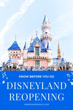 Post with all information regarding Disneyland Resorts reopening in July, 2020. Continuously updated leading up to reopening.