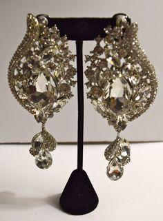 Square Shape Costume Earrings Pierced | Costume Fashion Earrings ...