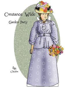 Goes with Oscar Wilde Cut Out Doll