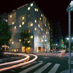 via kureator:          via onsomething    Jun Aoki | Louis Vuitton - Tokyo 2004  photo by Jimmy Cohrssen