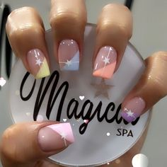 Hot Nail Designs, Acrylic Nail Designs, Precious Nails, Nail Picking, White Tip Nails, Vintage Nails, Gel French Manicure, Xmas Nails, Trendy Nail Art