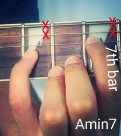 A minor 7 chord.. Learn 6 different and relevant shapes of A minor 7 chord.. Easily understandable :) http://musicterrene.com/2015/09/08/a-minor-7-chord/