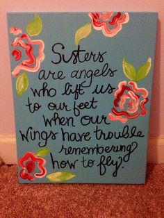 sorority craft i made for my little.