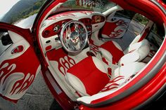 Custom PT Cruiser Interior   2001 Chrysler PT Cruiser