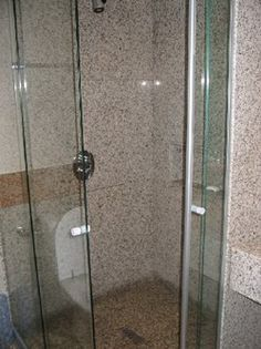 small shower stall