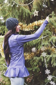 This week for dinner Albion Fir giveaway - Alpine Funnel Jacket, Heather Violet