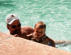 Swimming with Lauren