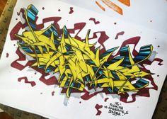 Graffiti Wildstyle, What To Do When Bored, Graffiti Lettering, Black Books, Sketch Art, Street Art Graffiti, Scriptures, Art Designs, Outline