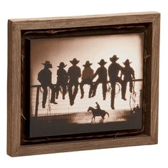 The Lesson Barnwood Shadow Box Art $39.95 Lone Star Western Decor