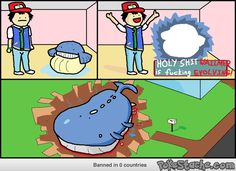 I enjoy Pokemon a lot and I spend a bit of time looking up comic strips for these as I find them highly amusing. Here is one showing the realistic evolution of Pokemon. Memes Do Pokemon, Pokemon Comics, Pokemon Funny, Pokemon Stuff, Troll, Humour Geek, Man Humor, Funny Pokemon Pictures, Funny Photo Gallery