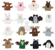 Resultados de la Búsqueda de imágenes de Google de http://us.123rf.com/400wm/400/400/mjp/mjp0804/mjp080400024/2818349-aislado-de-recogida-de-las-diferentes-marionetas-de-dedo-animales.jpg
