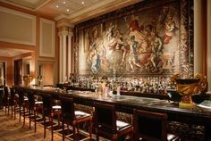 Alexander's Bar at the Grand Bretagne in Athens, Greece. Best hotel bar ever!
