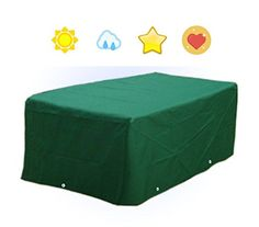 DELUXE Heavy Duty Waterproof Garden Patio Table Cover Outdoor Furniture Protection (L170cm*W94cm*H71cm--WS15T)