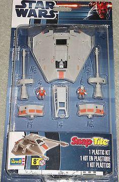 Star Wars Snowspeeder Revell New #85-8340 Snap Tite New Blister Pack