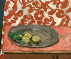 lawrenceleemagnuson:Henri Matisse Lemons on a Pewter Plate, 1926 (reworked in on canvas x cmThe Art Institute of Chicago Henri Matisse, Matisse Paintings, Fauvism, Post Impressionism, Art Institute Of Chicago, French Artists, Painting Inspiration, Collages, Modern Art
