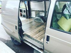 2002 GMC safari camper van conversion. Van Life Van Ideas